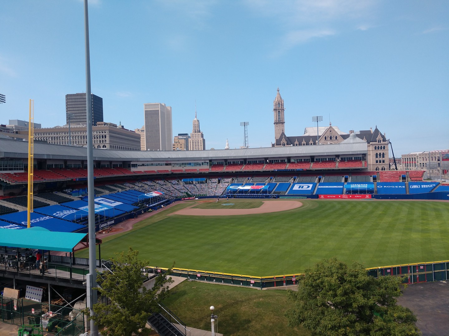 Buffalo's Sahlen Field - the Toronto Blue Jays home away from home for the 2020 MLB season.