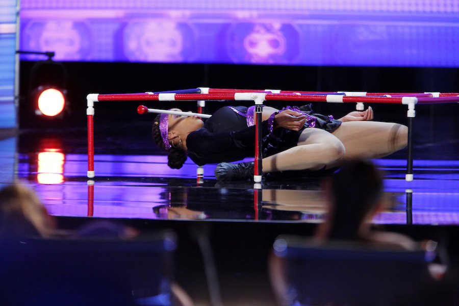 Shemika Charles performs on `America's Got Talent.` (NBC photos by Mitchell Varble)