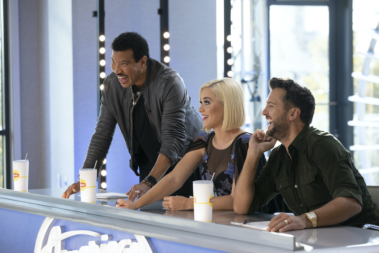 `American Idol` judges Lionel Richie, Katy Perry and Luke Bryan. (ABC photo by Eric Liebowitz)