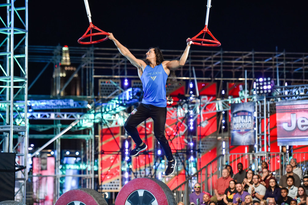 `American Ninja Warrior - Las Vegas Finals`: Pictured is Daniel Gil. (NBC photo by David Becker)