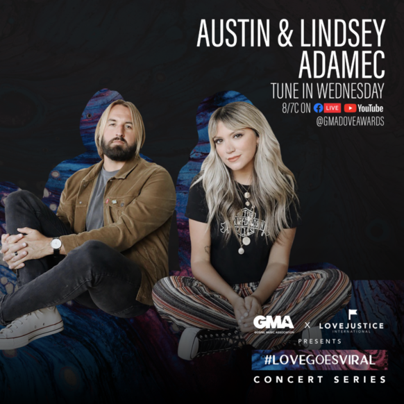 Austin and Lindsey Adamec (Images courtesy of Merge PR)