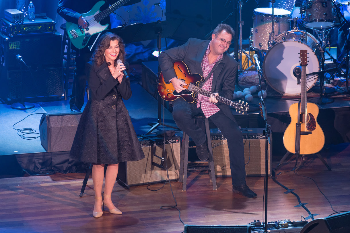 Amy Grant and Vince Gill (Photo credit: Steve Lowry/image provided by The Media Collective)