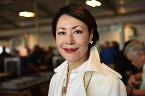 Ann Curry (Photo courtesy of David Turnley/TNT)