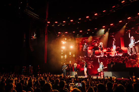 Little Big Town performs in Hartford. (Photo credit: Becky Fluke; submitted by UMG Nashville)