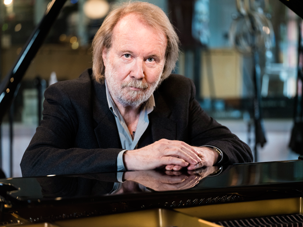 Benny Andersson (Photo by Knut Koivisto, courtesy of Universal Music Group)