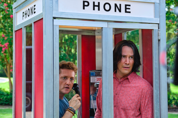Alex Winter and Keanu Reeves star in `Bill & Ted Face the Music.` (Photo credit: Orion Picture)