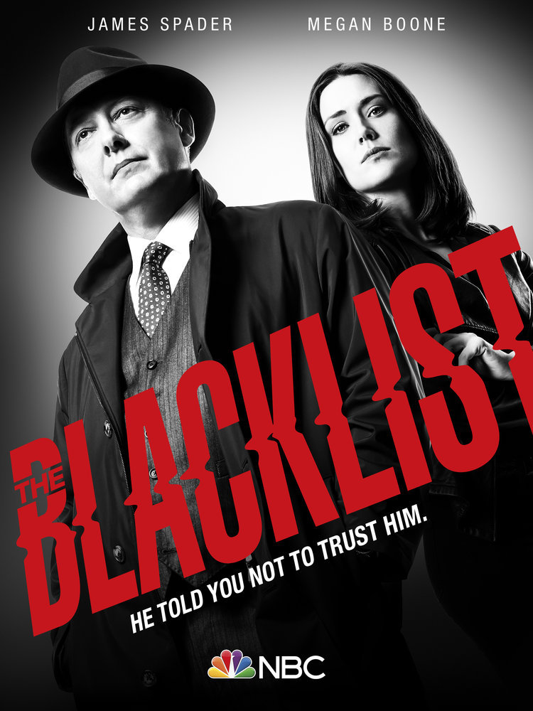 `The Blacklist` (NBC key art)