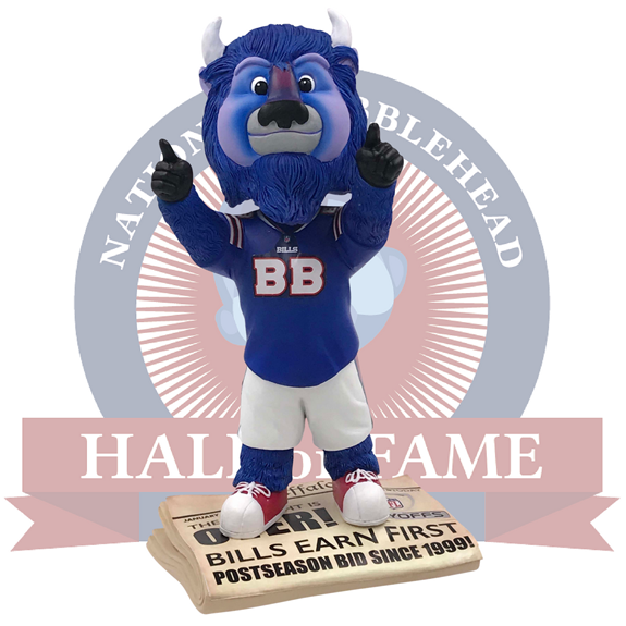 `The Drought is Over! Bills Earn First Postseason Bid Since 1999!` (Image courtesy of the National Bobblehead Hall of Fame and Museum)