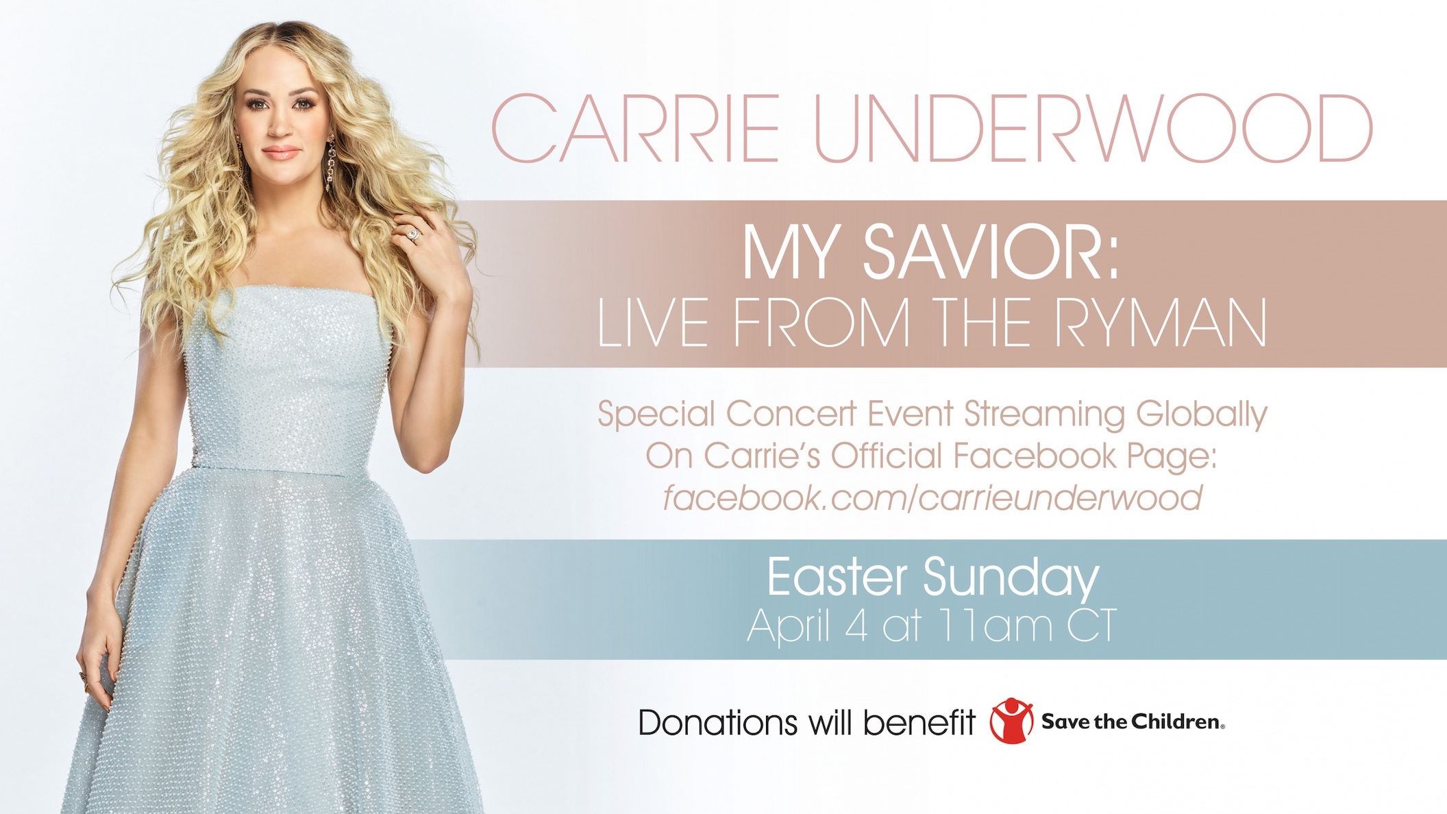 Catch Carrie Underwood live in concert. (Image courtesy of Universal Music Group Nashville)