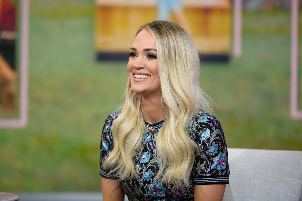 Carrie Underwood appeared on NBC's `Today` back on Tuesday, March 3. (NBC photo by Nathan Congleton)