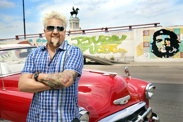 `Diners, Drive-Ins and Dives` star Guy Fieri will present a new documentary. (Food Network photo)