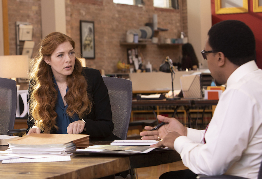 `Proven Innocent`: Rachelle Lefevre and Russell Hornsby in their new show, which is premiering midseason on FOX. (©2018 Fox Broadcasting Co., credit Adrian Burrows)