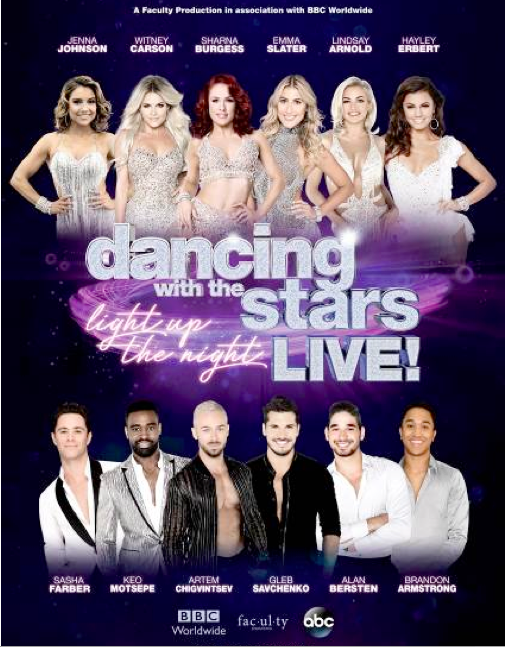 `Dancing with the Stars` is coming to town in 2018. (Photo credit: Faculty Inc)