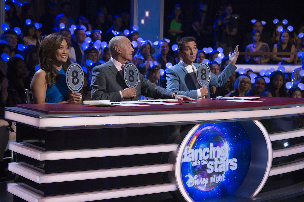 `Dancing with the Stars`: Judges Carrie Ann Inaba, Len Goodman and Bruno Tonioli (ABC photo by Eric McCandless)