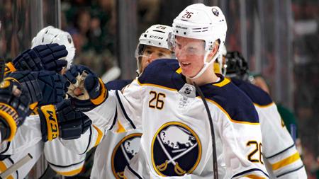 quality design e0722 7b7f7 Sabres' Dahlin named NHL Rookie of the Month for November