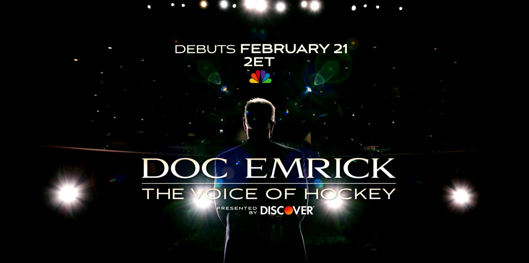 `Doc Emrick - The Voice of Hockey,` presented by Discover (Image courtesy of NBC Sports)