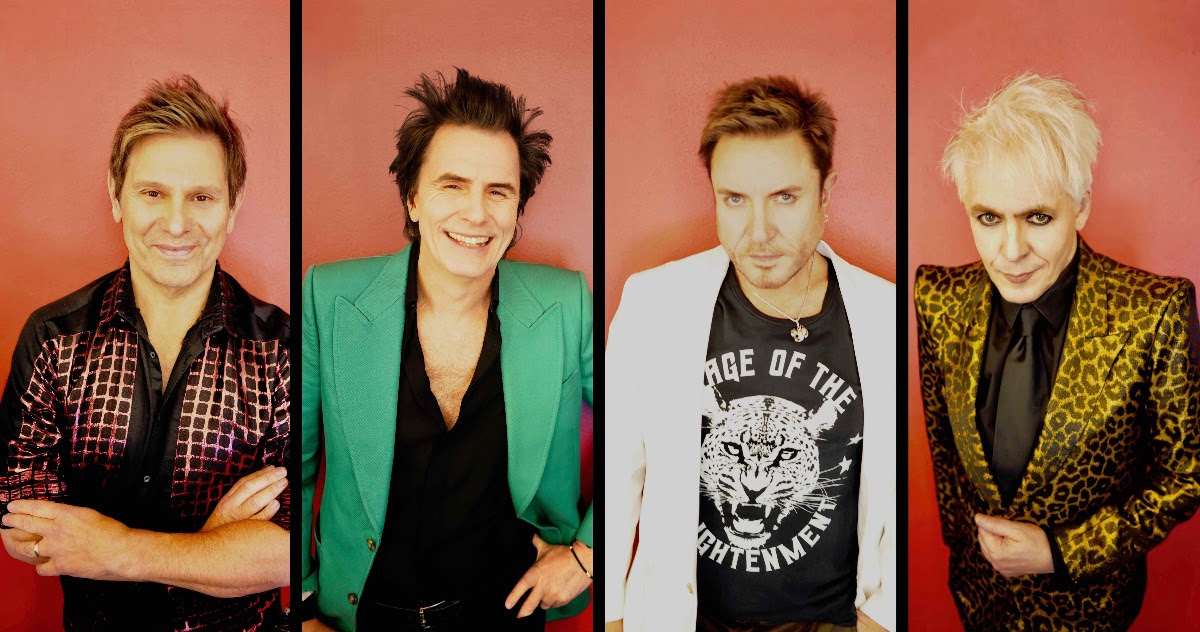 Duran Duran (Image courtesy of HIGH RISE PR)