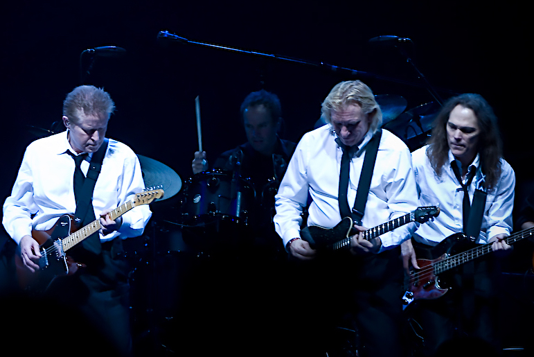 The Eagles. From left: Don Henley, Joe Walsh and Timothy B. Schmit.