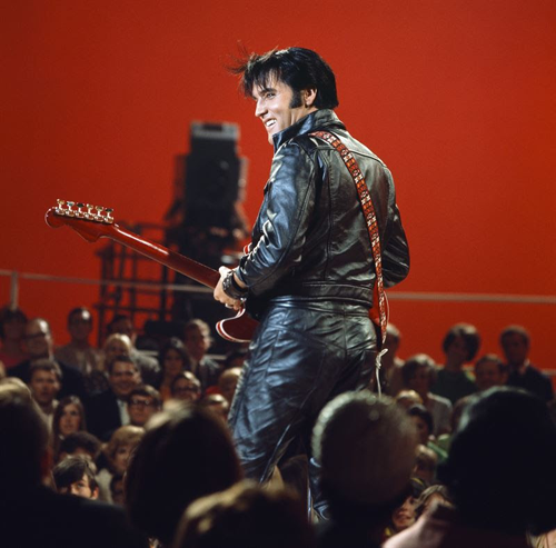 Elvis Aaron Presley. (Photo provided by NBC)