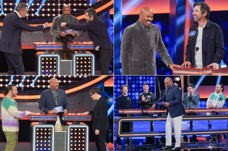 `Celebrity Family Feud` (ABC photo by Byron Cohen)