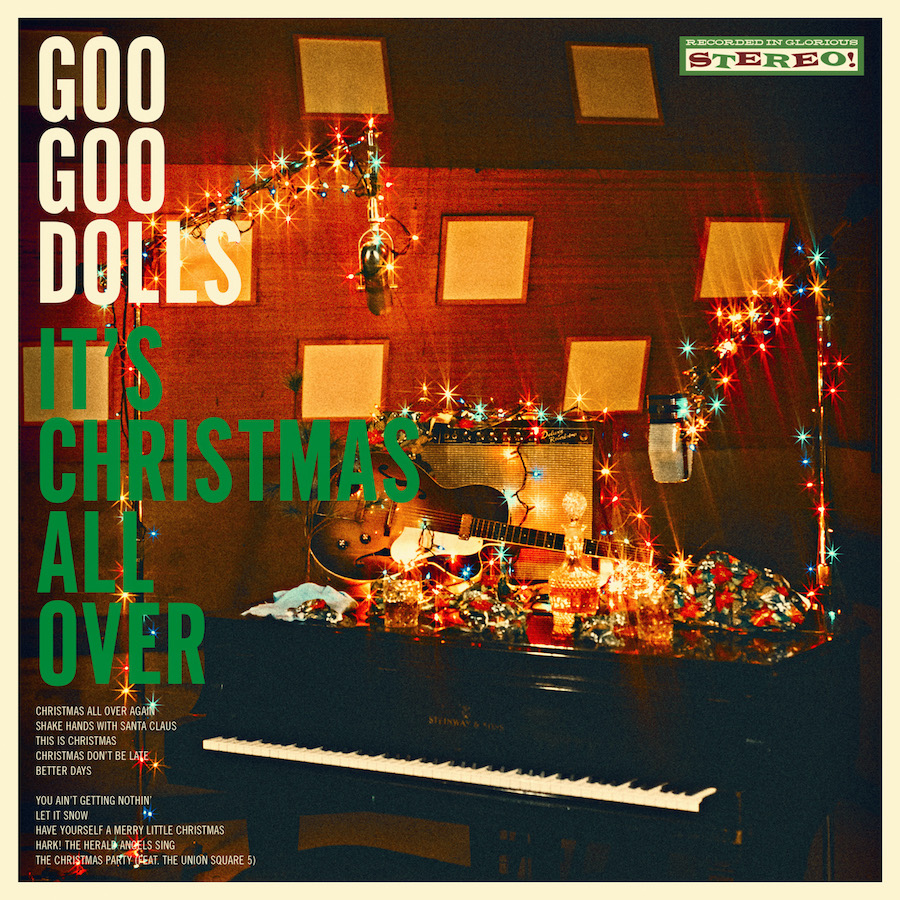 Goo Goo Dolls - `It's Christmas All Over` (Artwork courtesy of Warner Records and BB Gun Press)