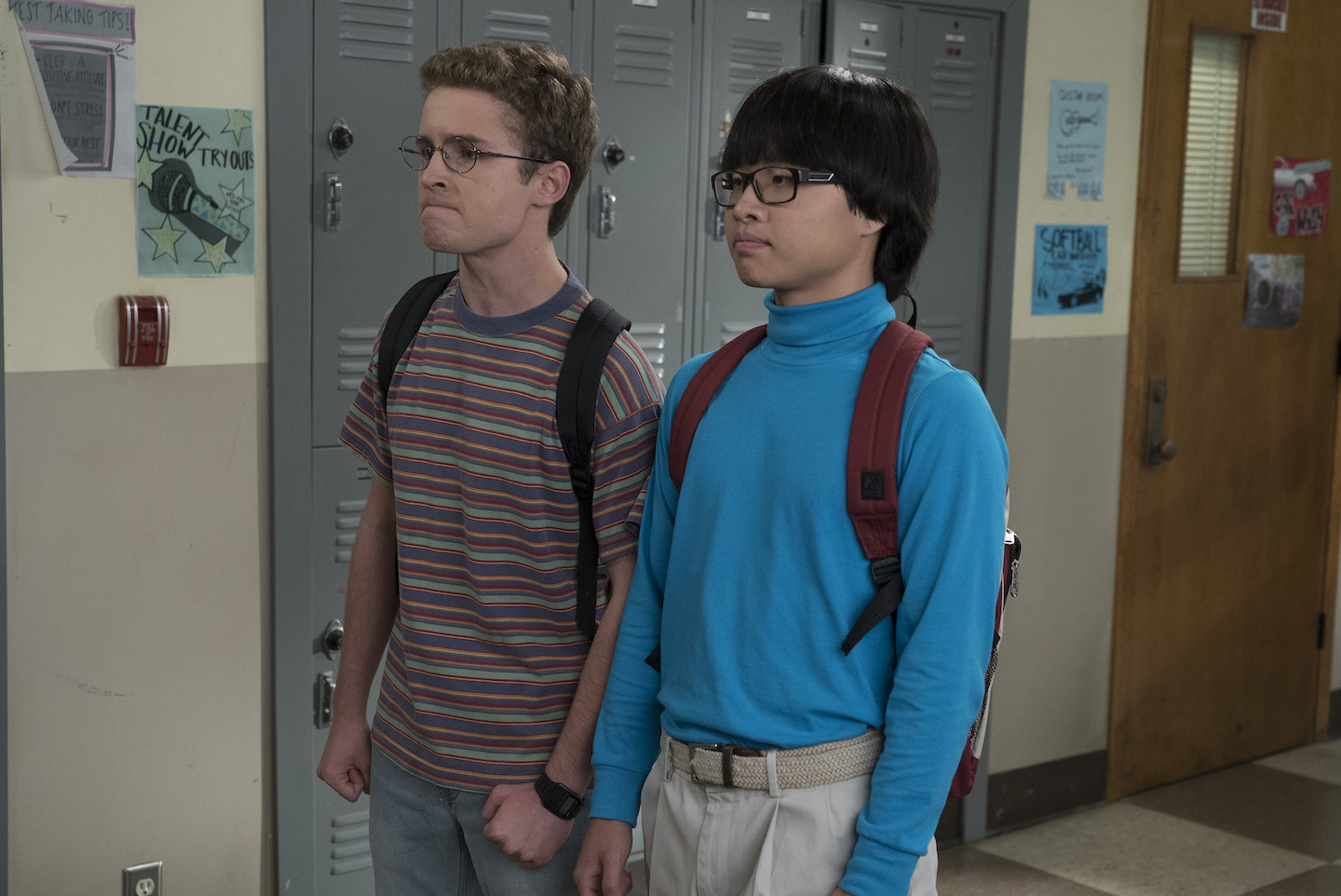 Adam (Sean Giambrone) and Dave (Kenny Ridwan) on `The Goldbergs.` (ABC photo by Eric McCandless)