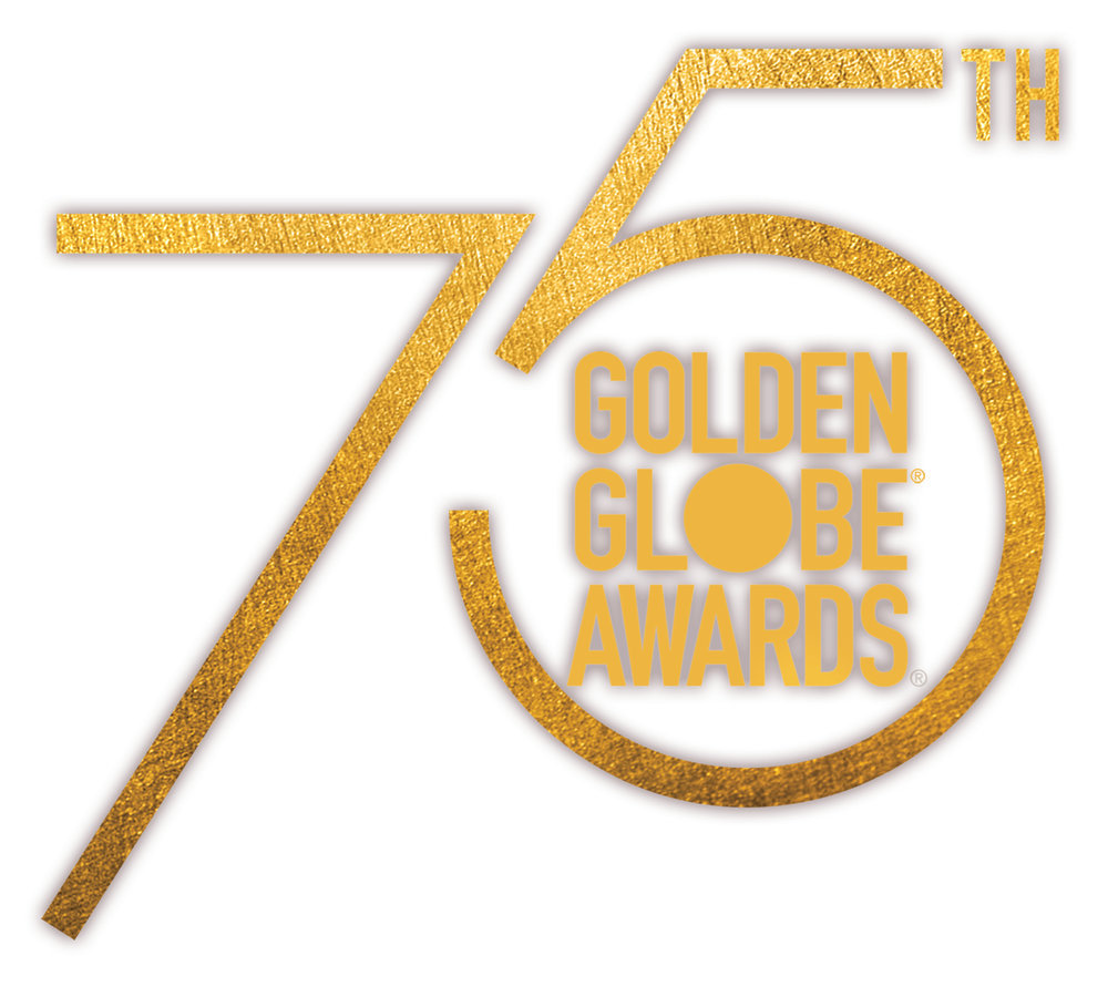 The 75th Golden Globe Awards logo (NBC photo)
