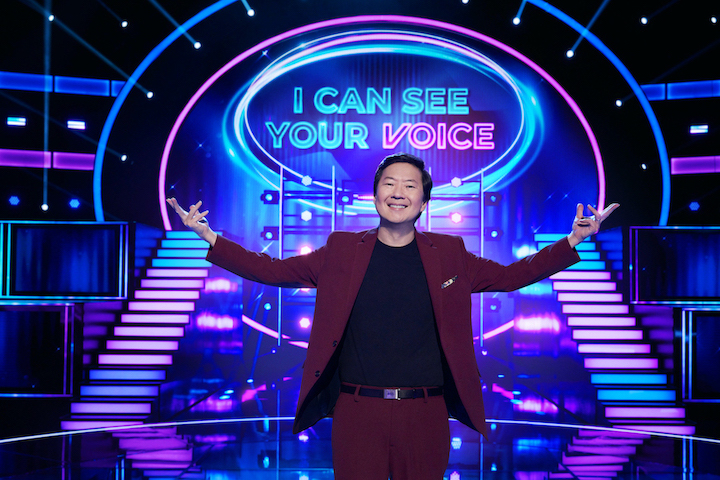 Host Ken Jeong in the series premiere episode of `I Can See Your Voice,` premiering Wednesday, Sept 23 (9 p.m. ET/PT), on FOX. (Photo ©2020 FOX MEDIA LLC./credit: Michael Becker/FOX)