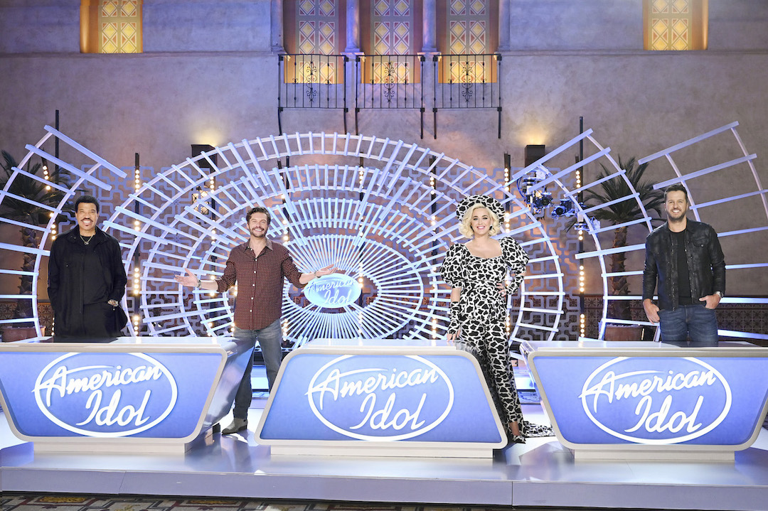 `American Idol`: The iconic star-maker competition series `American Idol` welcomes back music industry legends, judges Luke Bryan, Katy Perry and Lionel Richie, and veteran host Ryan Seacrest to help find America's next singing sensation for a fourth season on ABC. (ABC photo by John Fleenor)