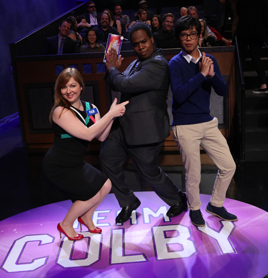Team Colby (All photos courtesy of Jeopardy Productions Inc.)