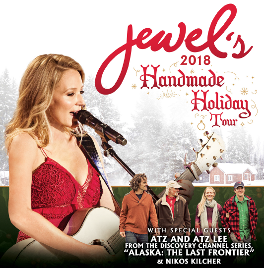 Jewel's `Handmade Holiday Tour` (Images provided by Seneca Casinos)