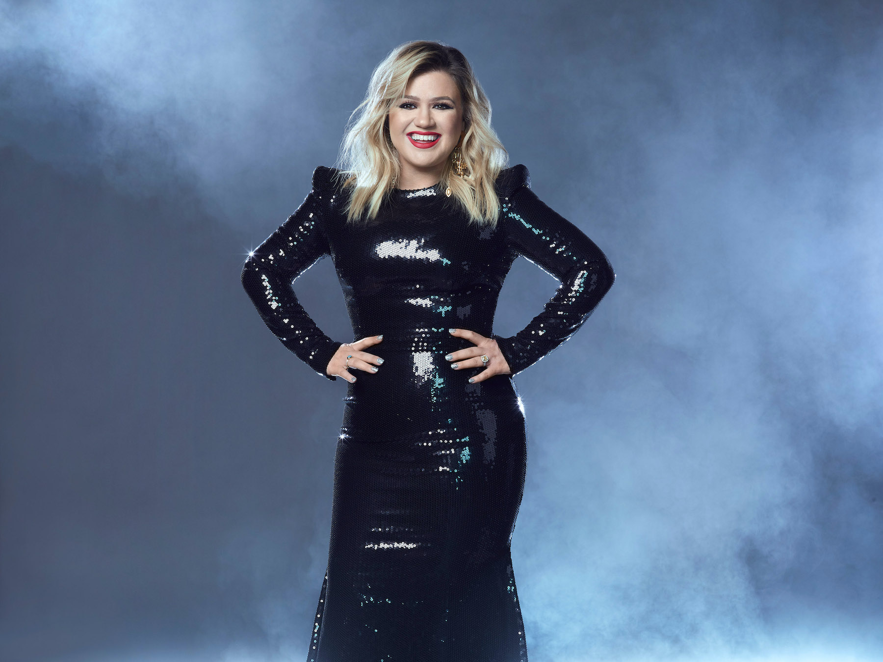 Kelly Clarkson returns to host the Billboard Music Awards. (NBC photo by Joseph Cultice)