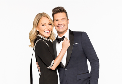 Kelly Ripa and Ryan Seacrest (Photo credit: ABC Entertainment)