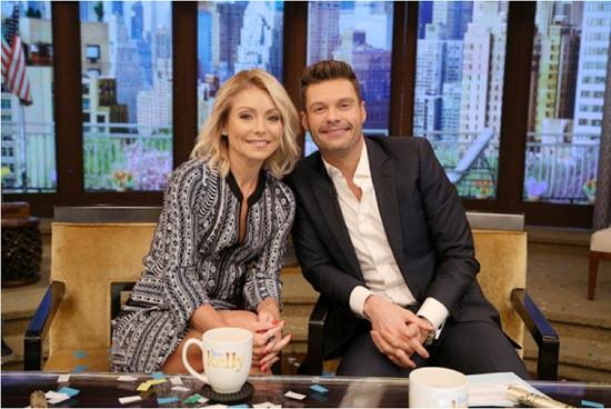Kelly Rip and Ryan Seacrest are headed to Niagara Falls. (Disney/ABC Home Entertainment and TV Distribution photo by David M. Russell)