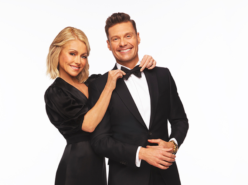 Kelly Ripa and Ryan Seacrest (Photo credit: Disney/ABC Home Entertainment and TV Distribution)