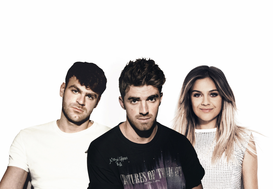 The Chainsmokers and Kelsea Ballerini (Photo courtesy of Columbia Record Publicity)