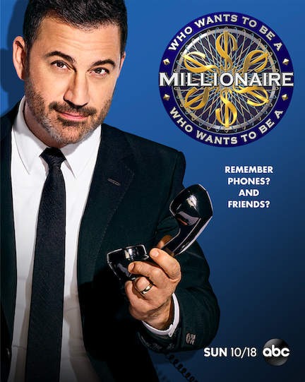 `Who Wants To Be A Millionaire` (ABC key art)