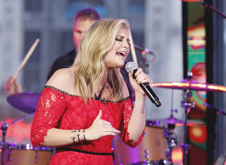 Lauren Alaina performs live on `Good Morning America.` ABC Television Network photo by Lou Rocco.