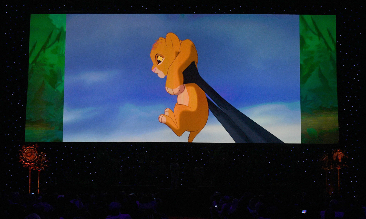 `The Lion King` made an appearance over the weekend at the D23 Expo. (Disney photo)