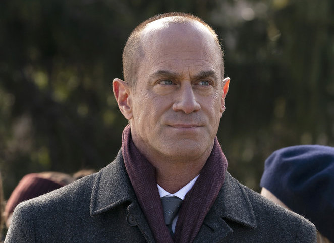 `Law & Order: Organized Crime` episode `What Happens in Puglia`: Pictured is Christopher Meloni as Det. Elliot Stabler. (NBC photo by Virginia Sherwood)