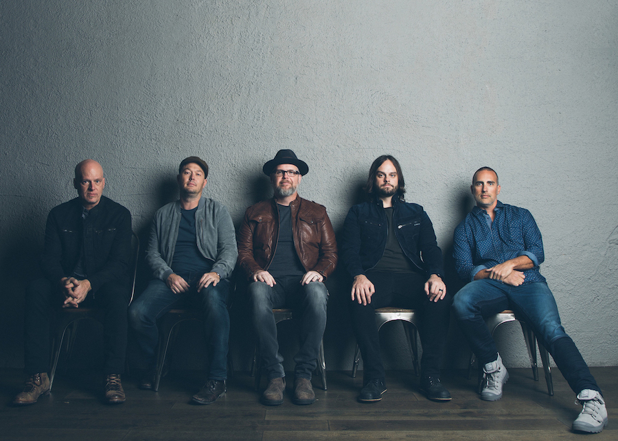 MercyMe performs Oct. 3 in Buffalo as part of the `Imagine Nation` tour. Bart Millard is center.