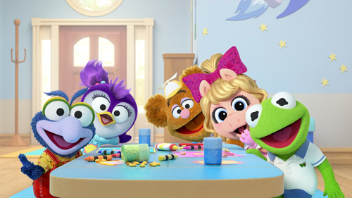 `Muppet Babies`: Disney Junior will soon launch a reimagined `Muppet Babies` television series, which chronicles the playroom antics of the beloved Kermit the Frog, Piggy, Fozzie Bear, Gonzo, Animal and Miss Nanny. Pictured are Baby Gonzo, Baby Summer, Baby Fozzie, Baby Piggy and Baby Kermit. (Disney Junior image)