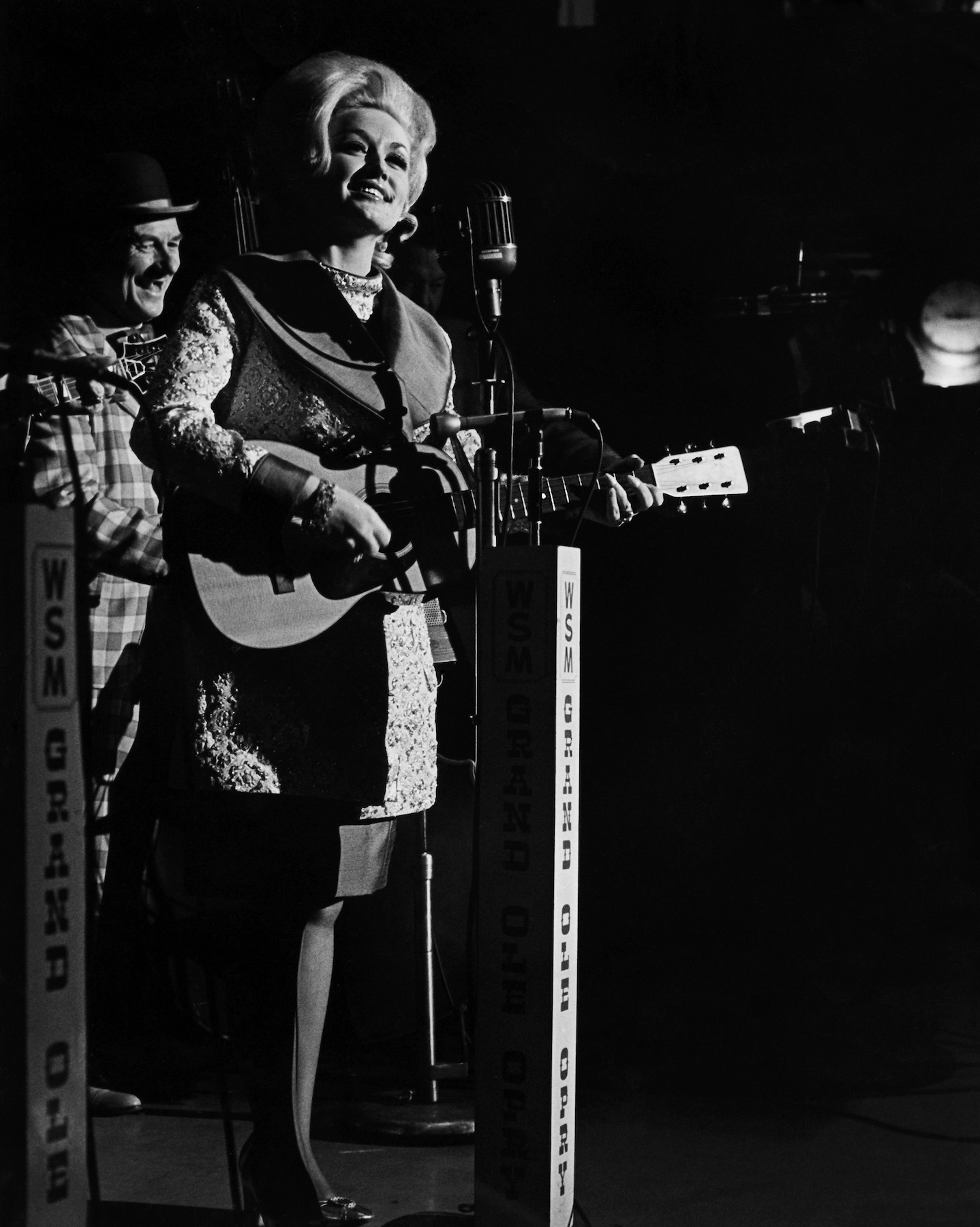 `Dolly Parton: 50 Years at the Grand Ole Opry`: Dolly Parton during her first appearance as a Grand Ole Opry member on Jan. 11, 1969. (Photo by Les Leverett/Grand Ole Opry; courtesy of NBC)