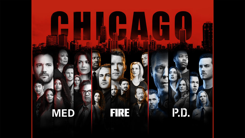 `One Chicago` (NBCUniversal key art)