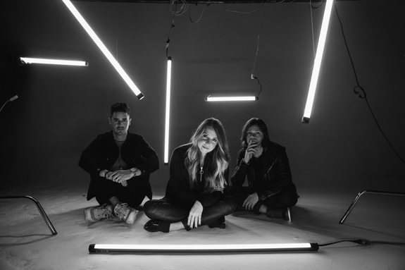 From left: Kristian Stanfill, Melodie Malone and Brett Younker. (Photo courtesy of The Media Collective)