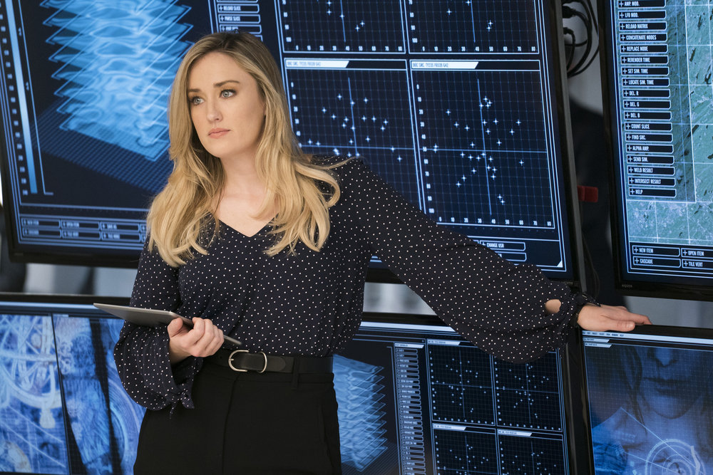 Ashley Johnson plays the witty, bold and resourceful Patterson on `Blindspot.` (NBC/Warner Bros. photo by Scott Gries)