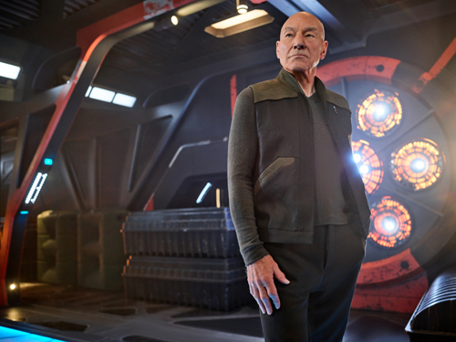 Sir Patrick Stewart as Jean-Luc Picard of the CBS All Access series `Star Trek: Picard.` (Photo by James Dimmock/CBS ©2019 CBS Interactive Inc. All rights reserved.)