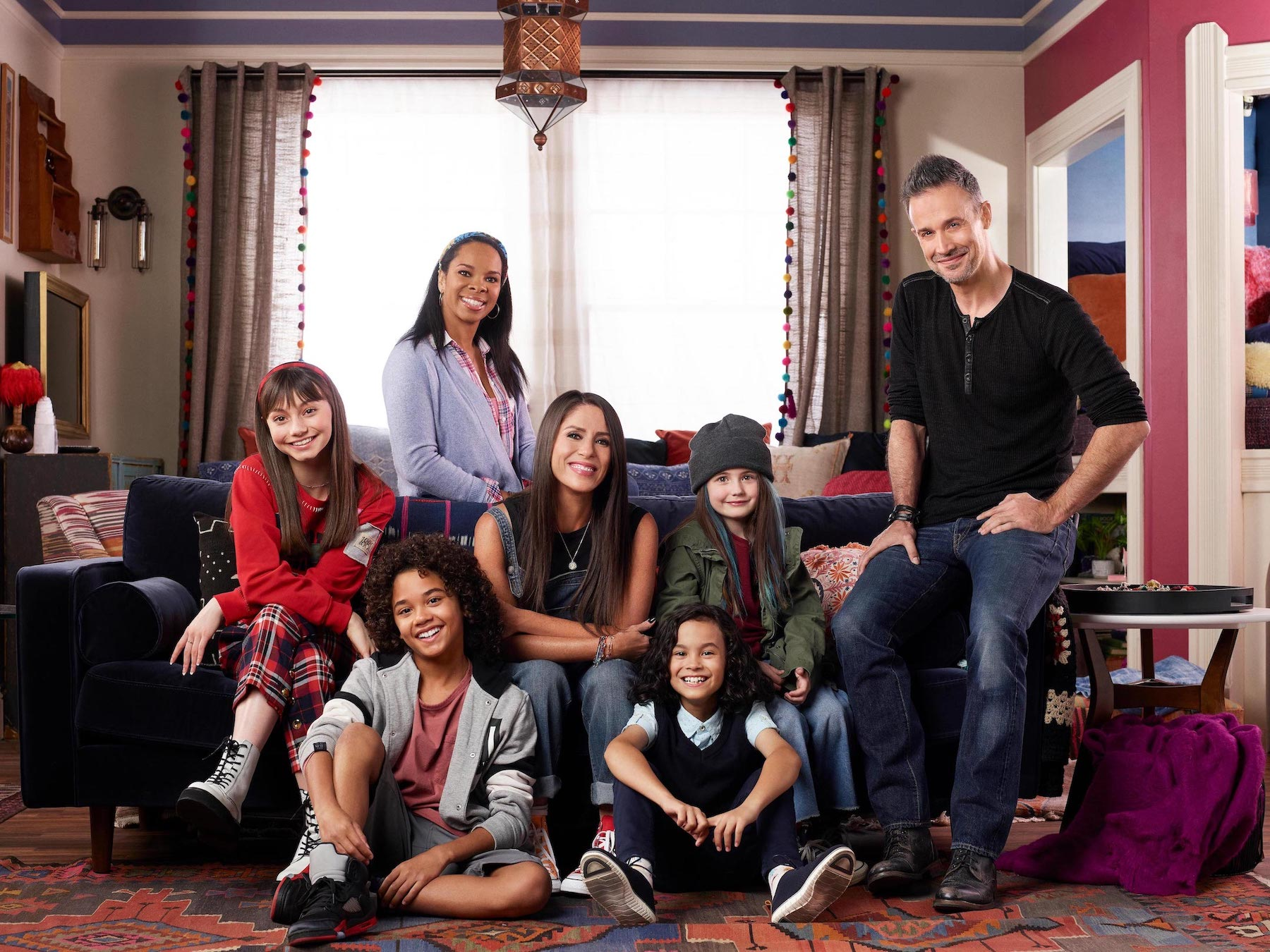 The cast of `Punky Brewster` (Image courtesy of NBCUniversal)