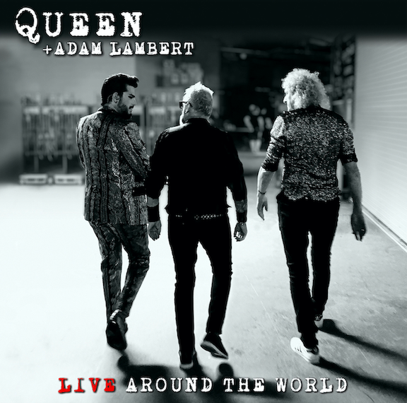 `Queen + Adam Live Around the World` (Image courtesy of Universal Music Group)