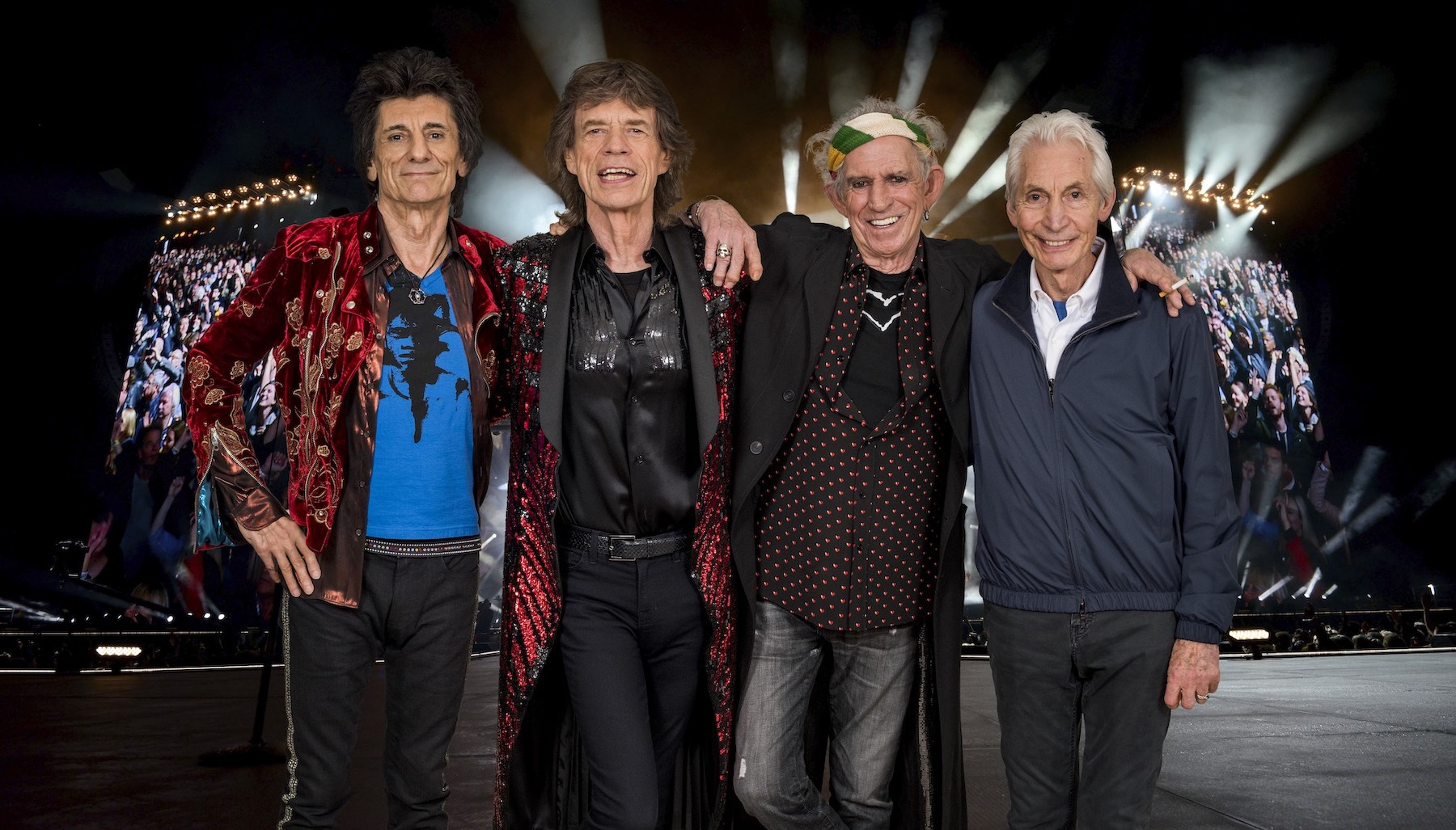The Rolling Stones, `No-Filter.` (Photo credit: Dave Hogan; image courtesy of New Era Field)